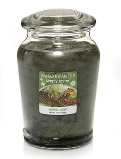 Yankee Candle simply home 19-oz. Winter Pine Jar Candle #Kohls #holiday #decor