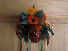 Forever Fall Mystical Witch Ball by TheStrokeofMidnight on Etsy, $14.95
