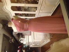 Gorgeous one shoulder bridesmaid dress