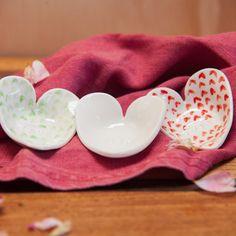 Copy of Brave, Sweet, Wild Heart Dish Set - boxed set of three Dish Sets, Christening Gifts, Wild Hearts, Tasmania, Wander, Brave, Artisan, Ceramics, Sweet