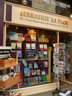 Librairie La Page, French bookshop in London. http://librairielapage.wordpress.com/fourniture-scolaire/