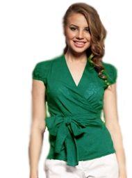Выкройка блузки с запахом - pdf