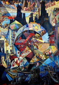 Heinrich Vogeler ◊ Baku ◊ Komplexbild ◊ 1927