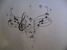 Musical Notes Tattoo | Free Download Music Notes Tattoo Design By Tattoosuzette On Deviantart ...