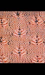 Cross-stitch Knitting Pattern / Ruk