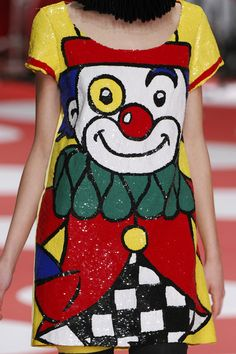 Some days call for a sequined clown dress. The day that springs to mind is the special one when you are committed to an asylum.