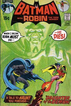 Batman 232  by Neal Adams