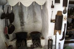 "The Folk Museum in Folegandros, is a quaint museum. In fact is a representative sample of a traditional farm of the century, called ""themonia"" by the. Greeks, Candle Sconces, Folk, Wall Lights, Museum, Traditional, Country, Home Decor, Appliques"