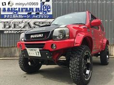 """""""Mi piace"""": 98, commenti: 1 - Jimny Club. (@jimny25) su Instagram: """"@minyu10969 #suzuki #samurai #jb23 #jb33 #jb43 #ja12 #ja11 #sj30 #чейджимка #4x4 #jimnyworld…"""""""