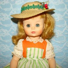 Madame Alexander Liesl Doll Sound of Music Series C1965-70 Large 14 Inch 1405 by AmericanBeautyDolls on Etsy