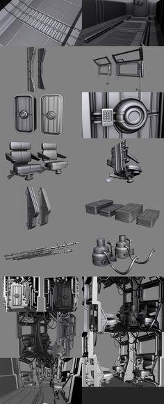 http://thornedvenom.deviantart.com/art/Sci-Fi-Train-Interior-Models-182731650