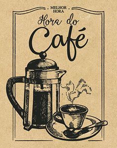 Litoarte Vintage Cafe, Vintage Diy, Vintage Signs, I Love Coffee, My Coffee, Coffee Cafe, Coffee Shop, Decoupage Paper, Glass Ornaments