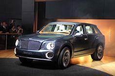 2015 Bentley SUV vehicles
