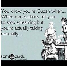 Being Cuban