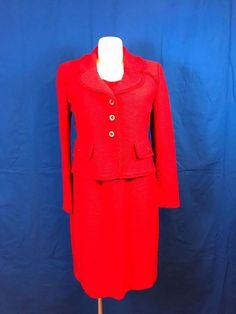 #forsale #STJOHN #Vintage Red 2 Piece #shopping #deals #buzz #fashion #cute #love #eBay #fashionista #trending https://www.ebay.com/itm/172944111132