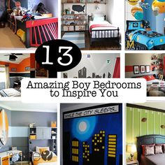 Themed boys bedrooms