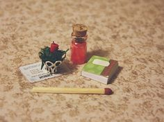 Lasituvan Miniatyyrit: 15. Joulukalenteri - Christmas Calendar 2015 Swap