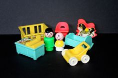 Fisher Price Little People Nursery Baby and Accessories by SmilingMemories on Etsy