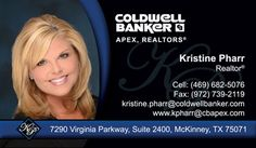 Coldwell Banker Business Cards for Real Estate Agents. Templates for Business Cards.