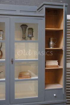 Vitrinekast Bretagne   1-1506-068   Old BASICS China Cabinet, Storage, Furniture, Home Decor, Brittany, Purse Storage, Decoration Home, Chinese Cabinet, Room Decor