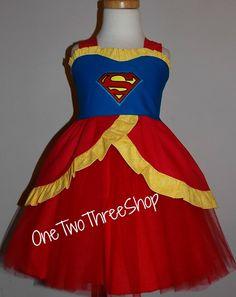 Super Woman super girl Custom Boutique Clothing super by amacim, $44.99