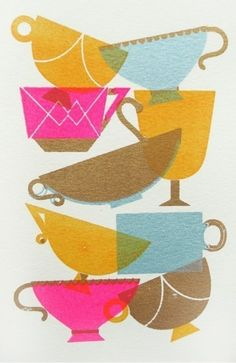 sooo cute for MY kitchen..lol ill try to remake this, hard part is the overlapping color differentiation. love<3ae