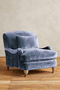 Slub Velvet Glenlee Chair