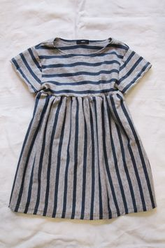 Striped summer dress - Makie