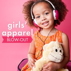 Take a look at the Blow-Out: Girls' Apparel event on zulily today!