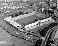 Aerial View, St James Park circa 1965 -Newcastle United