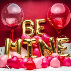 Valentine's Day Mimosa Bar BE MINE Balloon Decorations, BE MINE Letter Balloon With Heart Balloons, Bobo Balloons,Great for Champagne Bar/Bachelor party/Bubbly Bar/Wedding/Bridal Shower Best Valentine Gift, Valentines Day Photos, Valentines Day Party, Valentines Day Decorations, Valentine Wreath, Letter Balloons, Heart Balloons, Mylar Balloons, Confetti Balloons