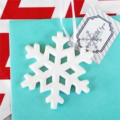 Porcelain Snowflake