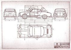 volkswagen t1 kombi blueprint measurements - Google Search