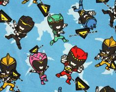 Image result for power rangers fabric uk