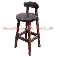 Bar Stool / Bar Chair / Antique Bar Furniture (SC-G148) Style : Antique. Bar stool SC-G148 Size: 440*440*940MM Material: Fir wood Used in Dining room, park, villas, garden, restaurant, hotel... The mainly raw materials of the products are high quality fir, skim through the high-temperature, high temperature sterilization, drying, carbonization and other anti-corrosion treatment, a special process using environmentally friendly paint spraying, production of environmentally friendly products, du Bar Chairs, Bar Stools, Antique Bar, Bar Furniture, Dining Room, Restaurant, Raw Materials, Antiques, Villas
