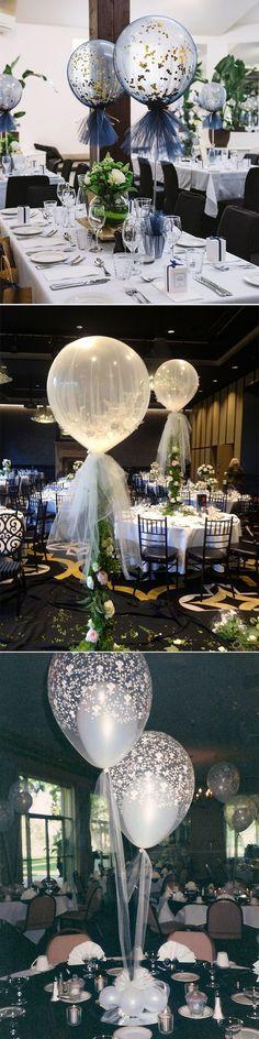 creative diy balloon wedding centerpieces decoration ideas