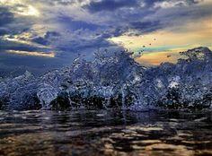 Atlantic Ocean Blue