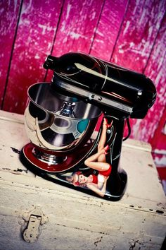 Custom Kitchen Aid mixers
