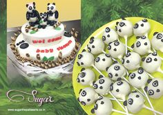 Another baby shower Sugar catered to, with a cute Jungle themed baby panda chocolate cake & Panda cake pops. Place you custom orders with us, be it a wedding, baby shower, festivals, or corporate gifting. Call us on 022-26614708 or drop by our store in Santa Cruz at Shop #4, Sujata Building, Juhu Road, Opp. Santacruz Police Station, Santacruz West, Mumbai 400054 for inquiries & orders. #sugarthepatisserie #dessert #customcupcake #cookies #dessert #cakes #mumbaifoodie #zomato #eggless…
