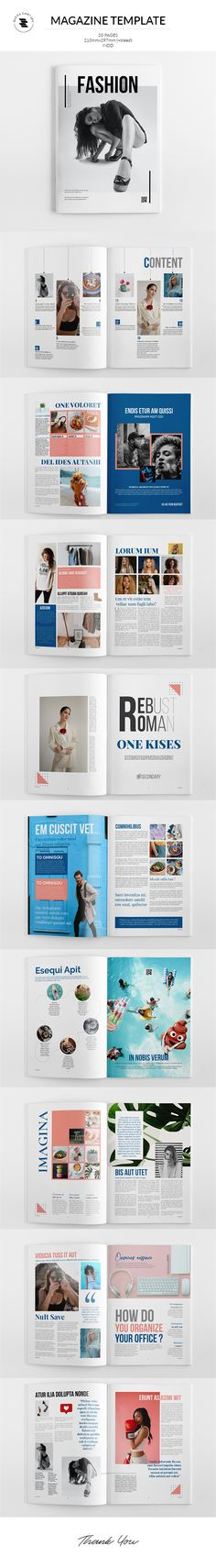 Magazine Template, Photo Displays, Layout, Lettering, Templates, Fashion, Role Models, Moda, Calligraphy