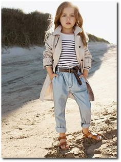 that awkward moment when a little girl has better style than you...