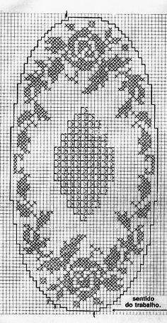 Crochet Table Runner Pattern, Crochet Doily Patterns, Crochet Doilies, Crochet Lace, Crochet Stitches, Embroidery Patterns, Free Crochet, Lace Runner, Fillet Crochet