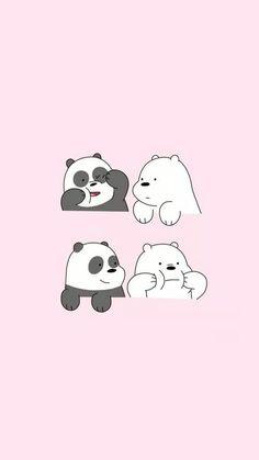 Three bears |We Bare Bears | We The Bears | Cute Korean Illustration