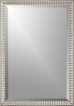 Silver Ripple Mirror in Mirrors | Crate and Barrel