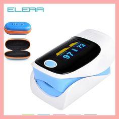 Digital finger oximeter, OLED pulse oximeter display pulsioximetro SPO2 PR oximetro de dedo,oximeter a finger with carrying case