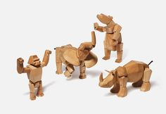 Animal Wooden Toys by David Weeks | Inspiration Grid | Design Inspiration