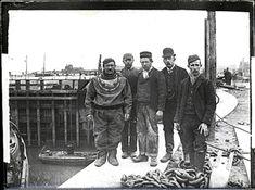 Diver group at Eastham Locks