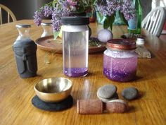 Mind Jars - Time-out Tool - Snow Globe - Help calm a crazed kid or yourself.  Fun project to do with the kiddos.