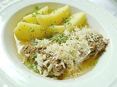 Münchner Tellerfleisch vom Yak mit Salzkartoffeln, Schnittlauch und Kren