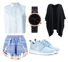 """""""Untitled #4"""" by kellypbb ❤ liked on Polyvore featuring interior, interiors, interior design, home, home decor, interior decorating, Boohoo, T By Alexander Wang, NIKE and Komono"""